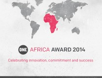 Applications open for the  2014 ONE Africa Award